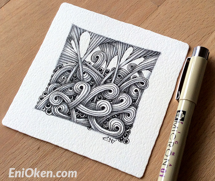 Learn how to create great Zentangle® • enioken.com