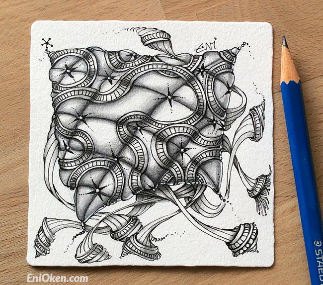 Learn how to shade Zentangle® • enioken.com