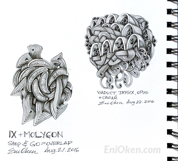 Create amazing Zentangle® • enioken.com