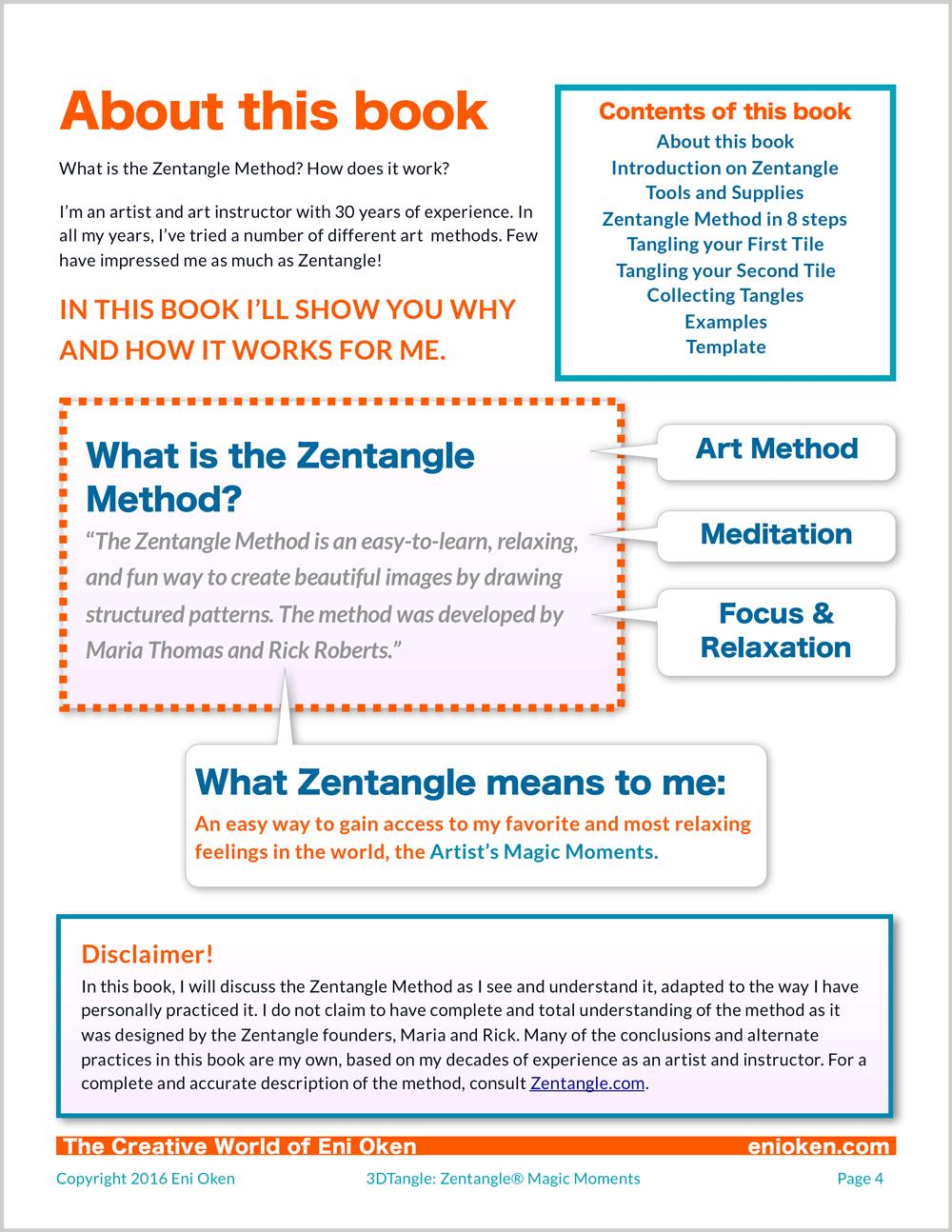 Learn to create amazing Zentangle® • enioken.com