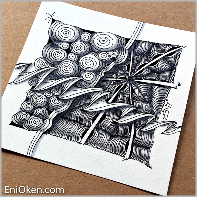 Learn to create awesome Zentangle® • enioken.com