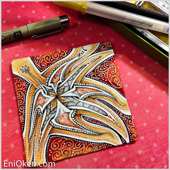 Learn to create amazing Zentangle® Art • enioken.com