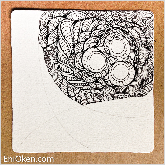 Learn how to draw and color amazing Zentangle® • enioken.com