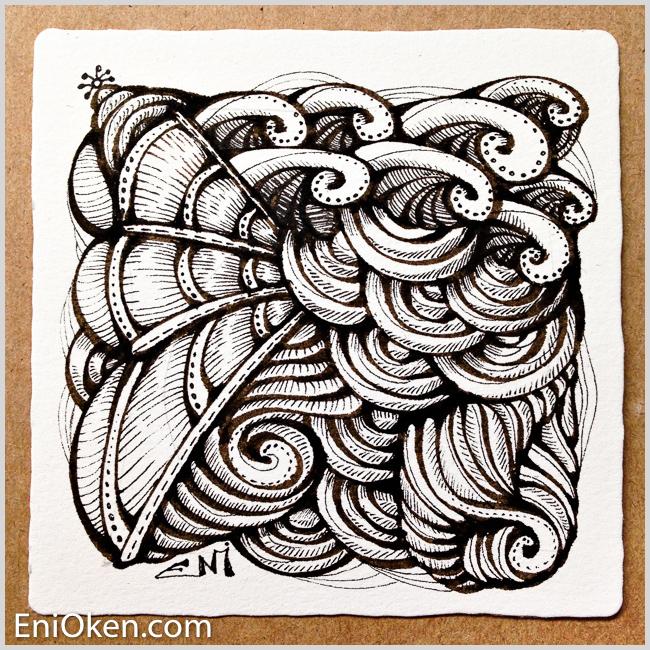 Learn how to create amazing Zentangle® * enioken.com