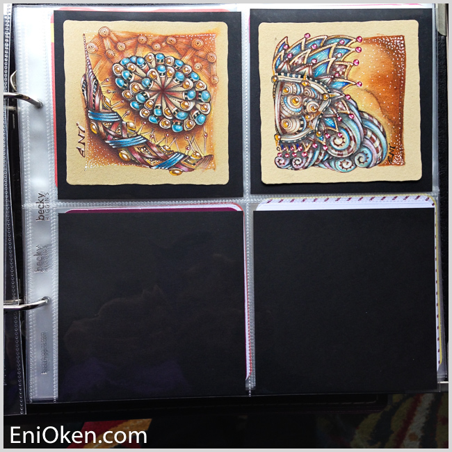 Learn to color Zentangle® • enioken.com