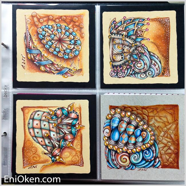 Learn to draw amazing Zentangle® • enioken.com