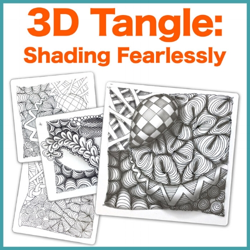 Learn how to shade Zentangle® fearlessly! • enioken.com