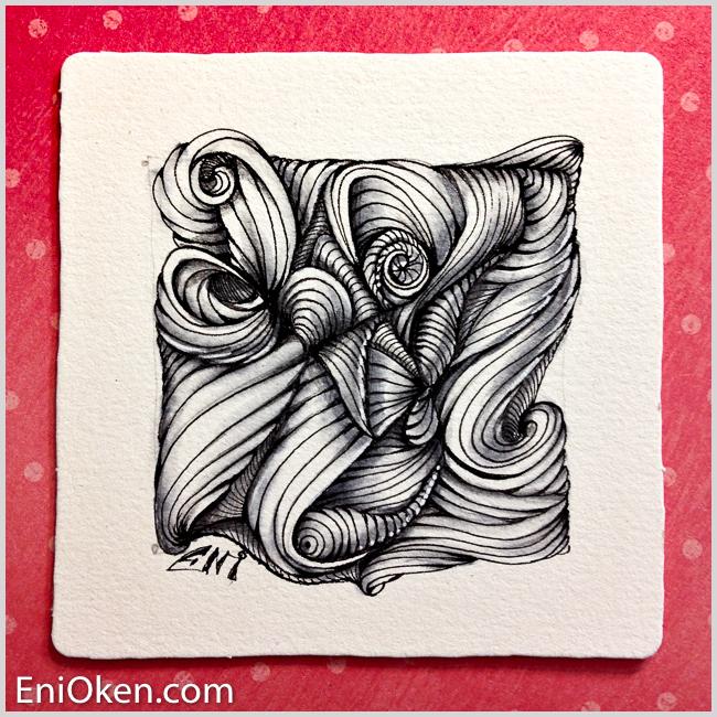 Learn how to create Echo Lines meditative art • enioken.com