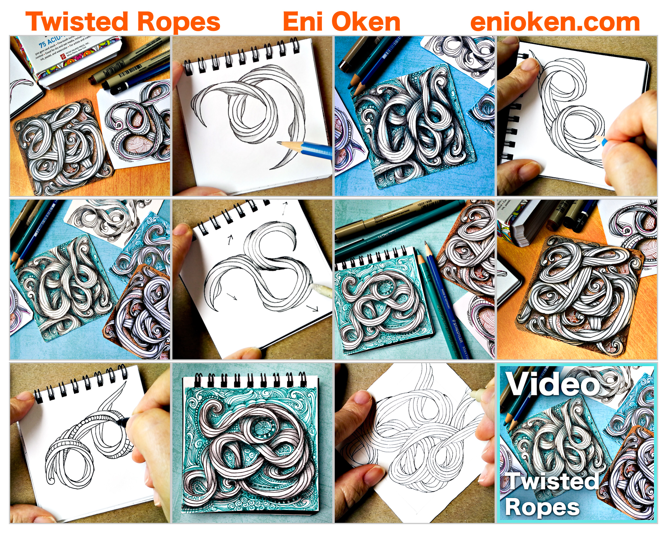 Learn how to create amazing twisted ropes • enioken.com