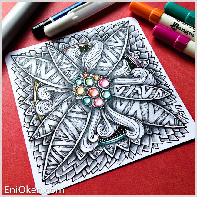 Learn to create Zentangle® • enioken.com