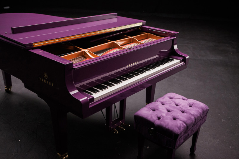 """The Purple Piano"" for Prince"