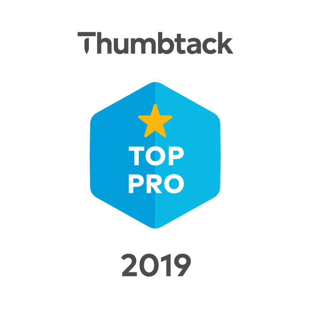 Thumbtack Top Pro Badge 2019