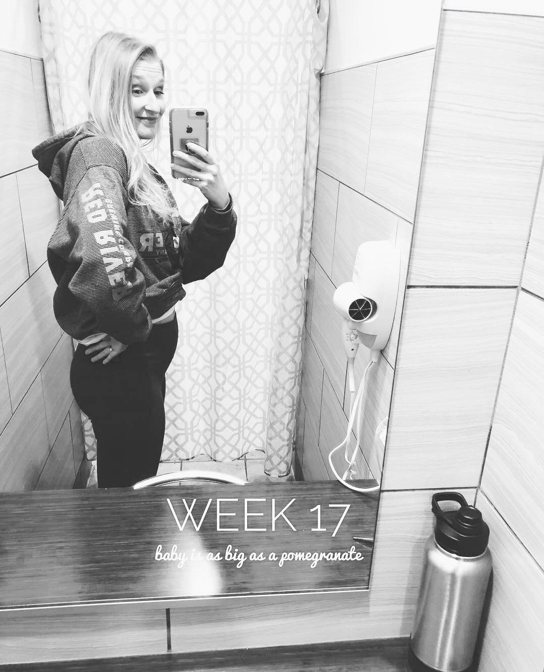 Week 17 - Sandi Mele pregnancy