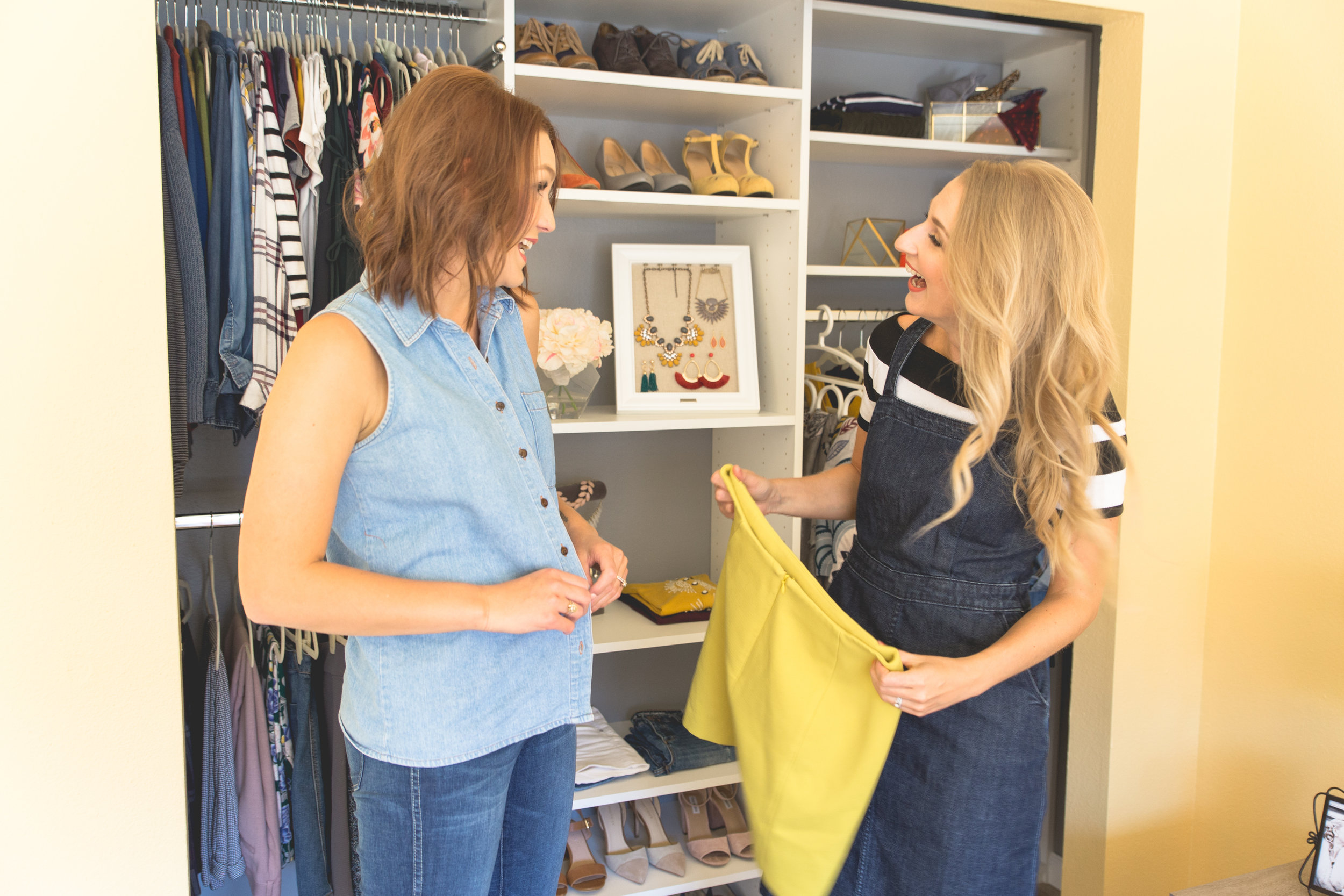 The Style Shop by Sandi Mele - February Shop Your Closet Challenge