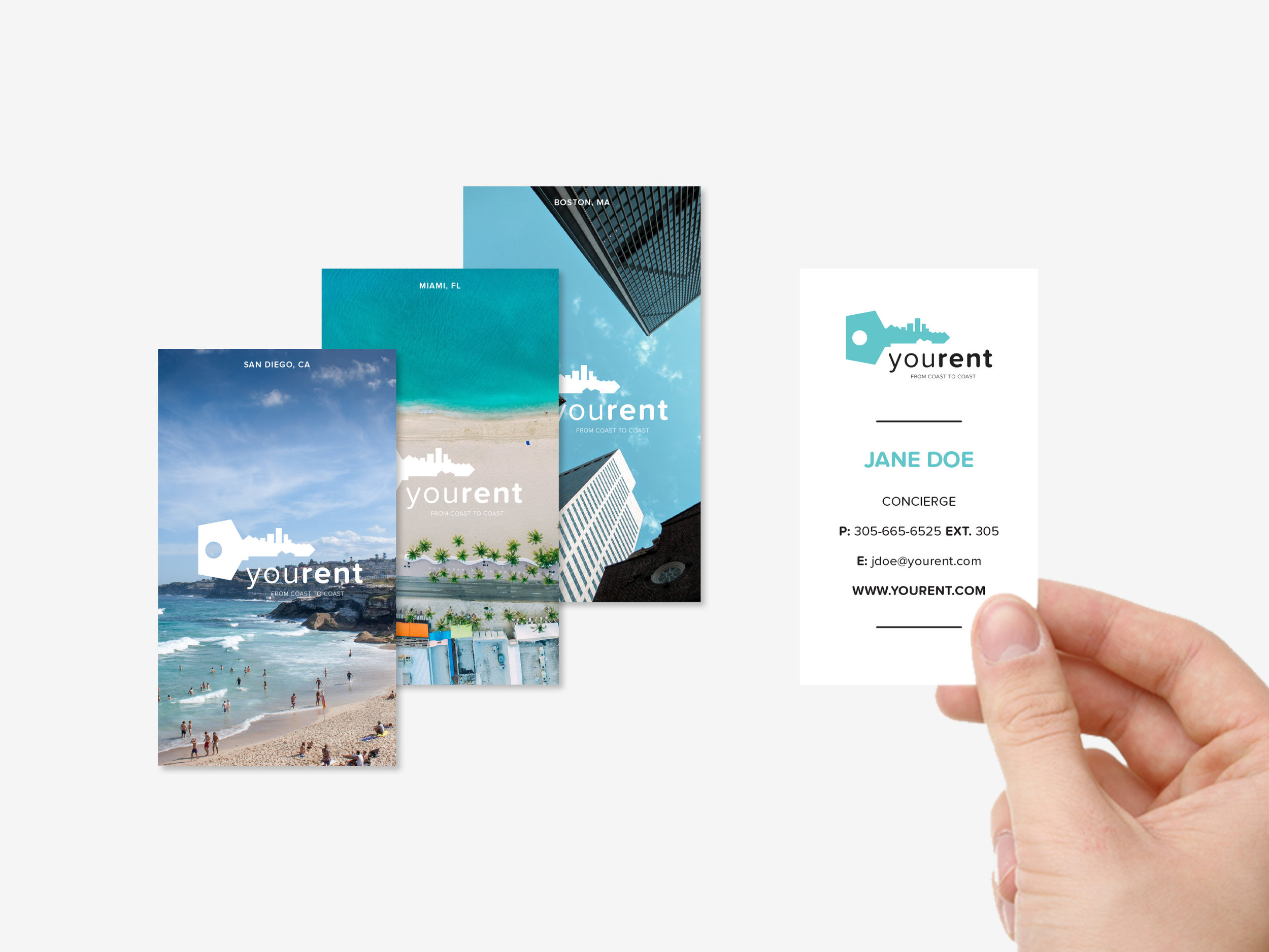Localized Concierge Cards