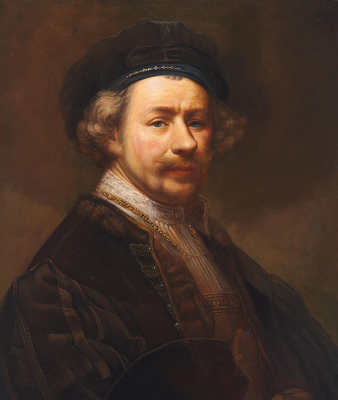 Lone wolf Rembrandt van Rhijn