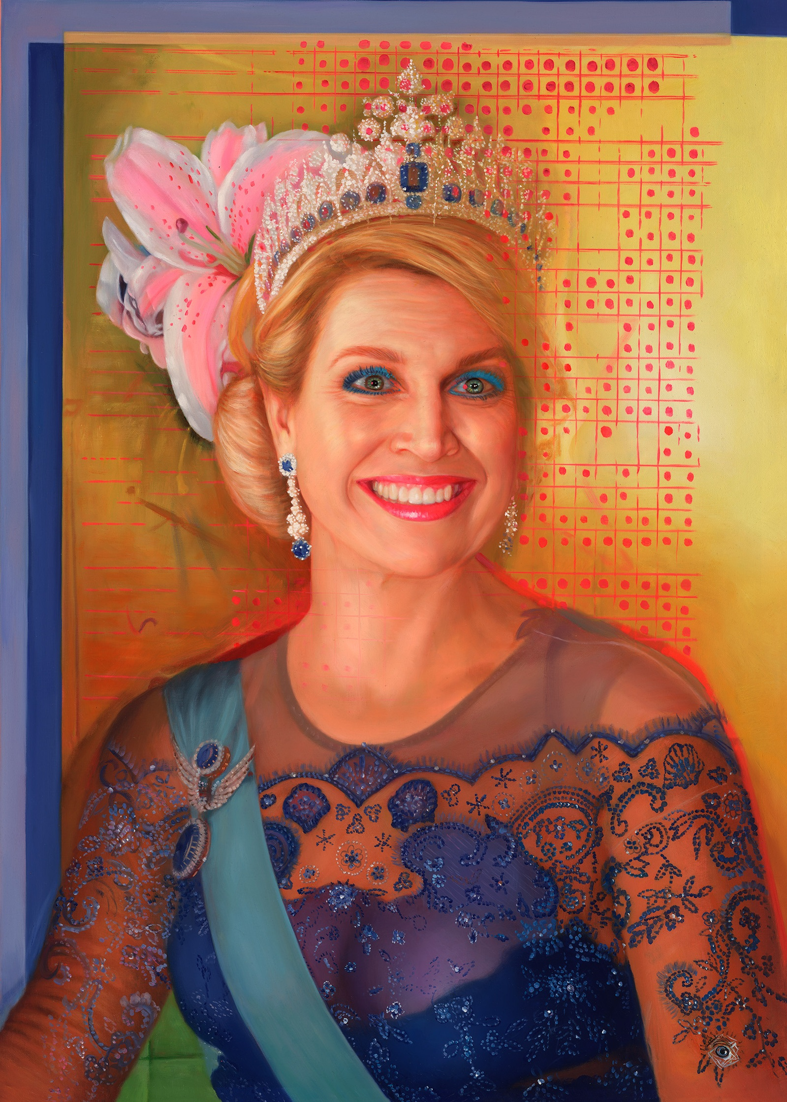 Sapphire | Queen Maxima of the netherlands