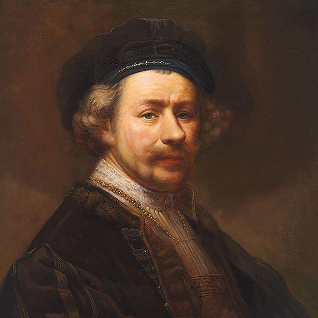 Mijn poging om  3 Rembrandt zelfportretten te mixen tot 1 schilderij.  @rijksmuseum  #langleverembrandt #schilderij #olieverf #surrealism #painting #rembrandt #rijksmuseum #contemporaryart #museum #hedendaagsekunst #realisme