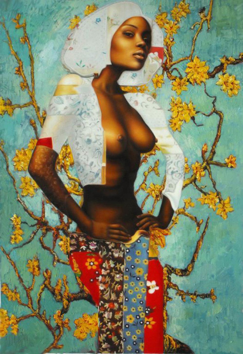 Black Van Gogh