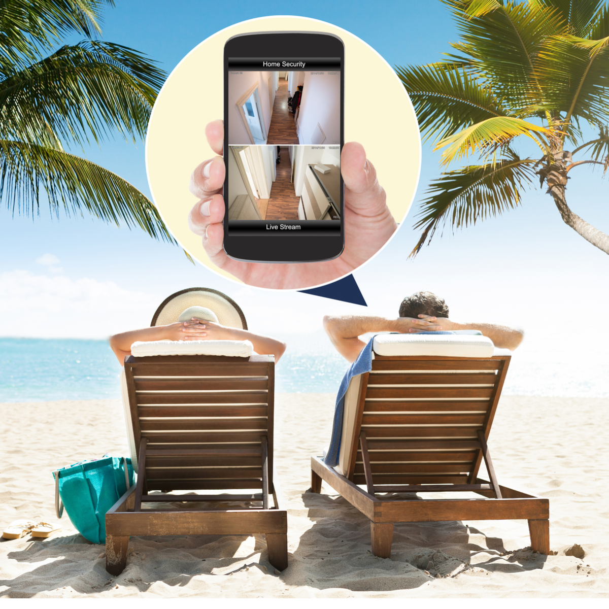 Never Miss a Thing! - With remote mobile viewing you'll always be close to home!