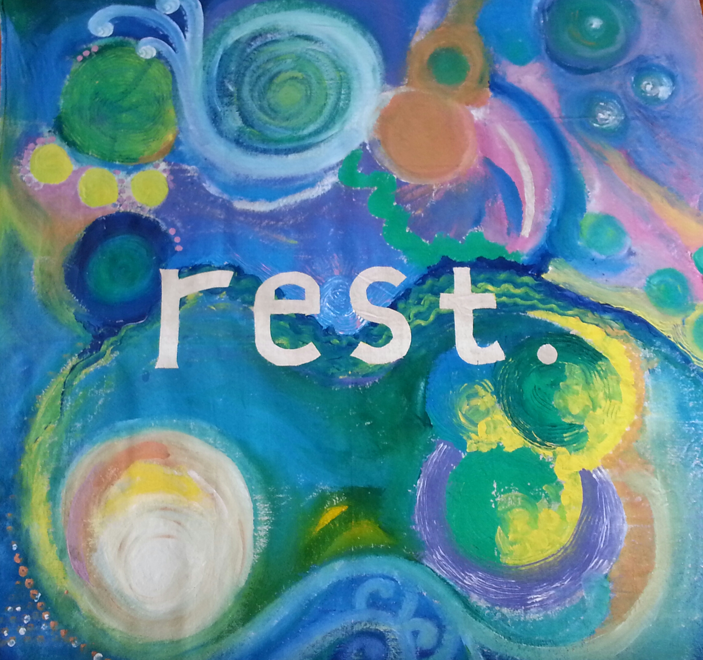 Rest , created by Imago Dei women in a project led by Maile Sand.