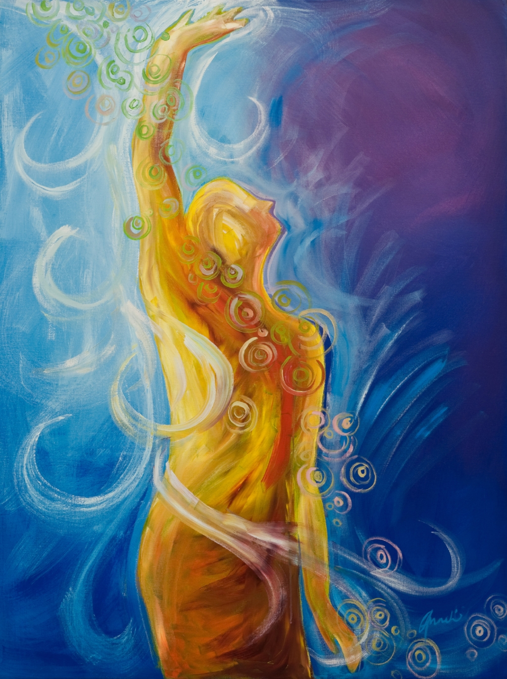 """""""Salt of the Earth"""", an original piece by artist  Anneli Anderson ."""