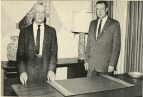 Frank Morrill and Delbert Machabee