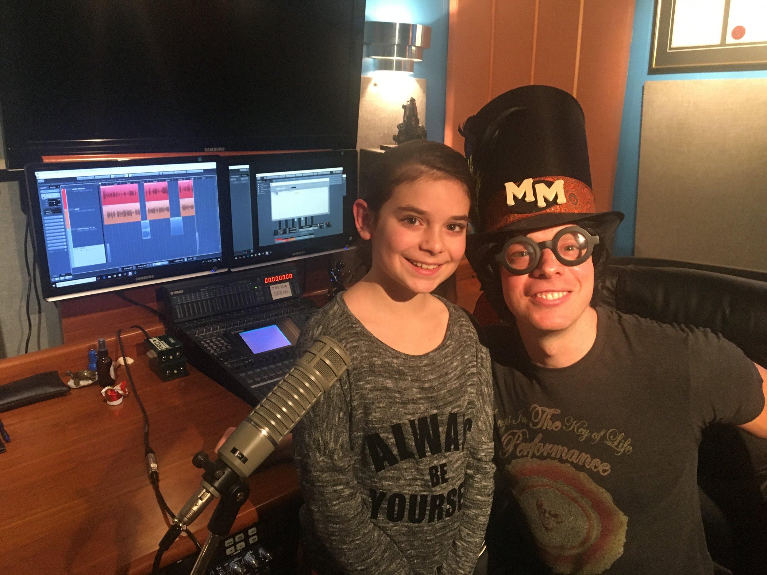 Isabella Tomaso with Marky Monday