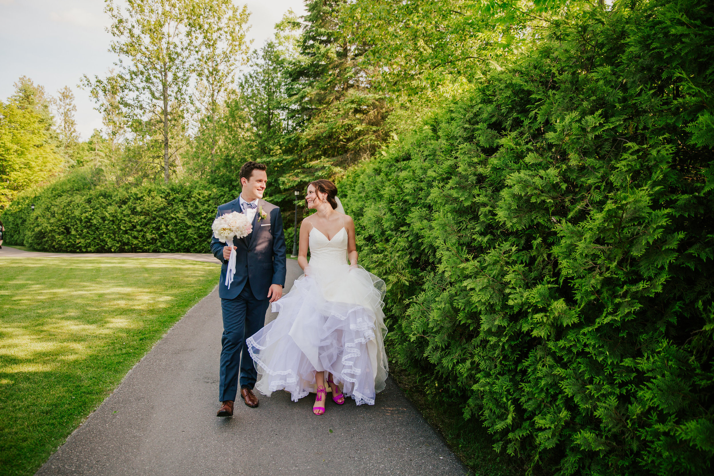 just married nestleton waters inn blush hayley paige
