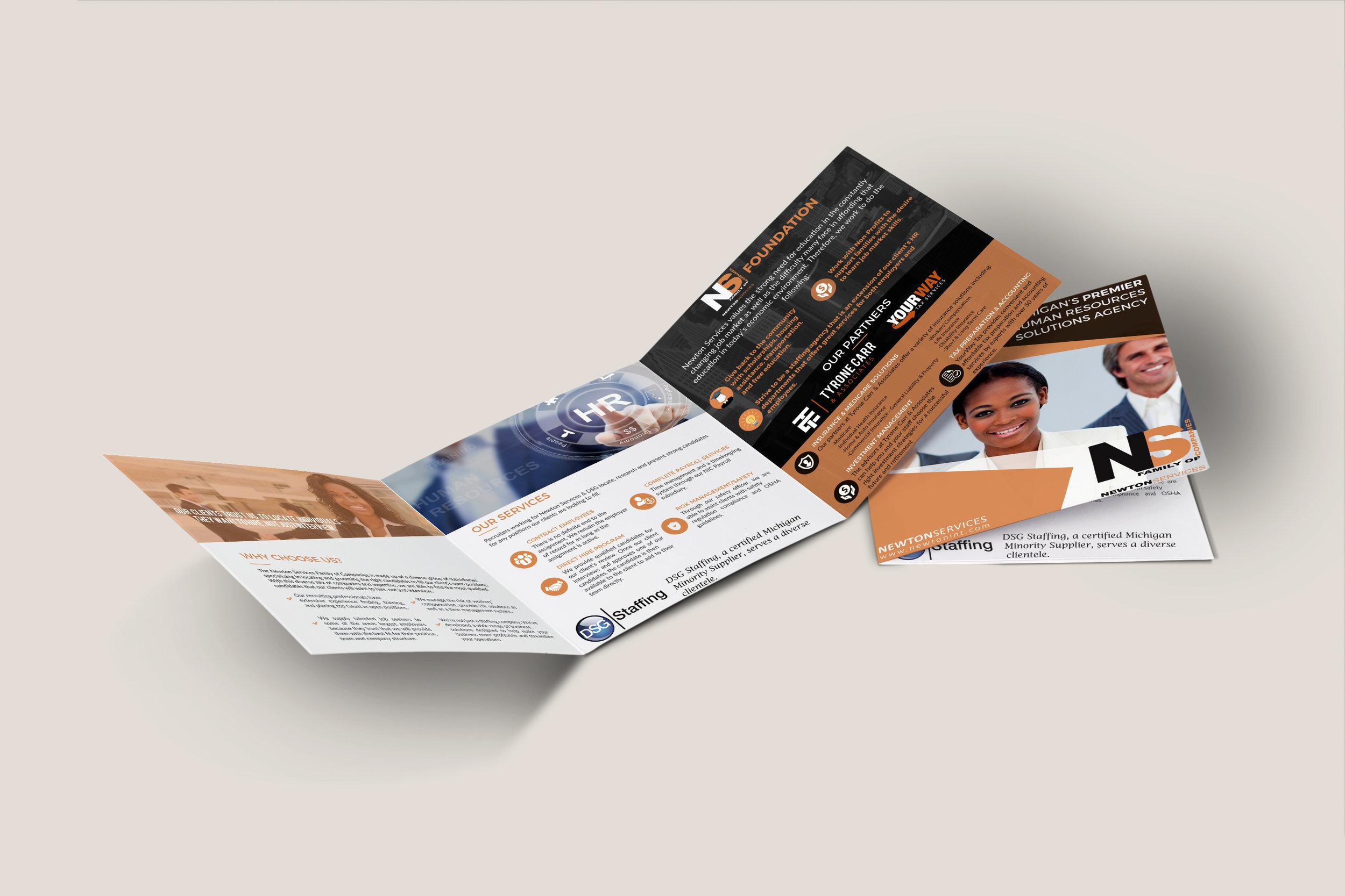 Informational Brochures - Newton Services