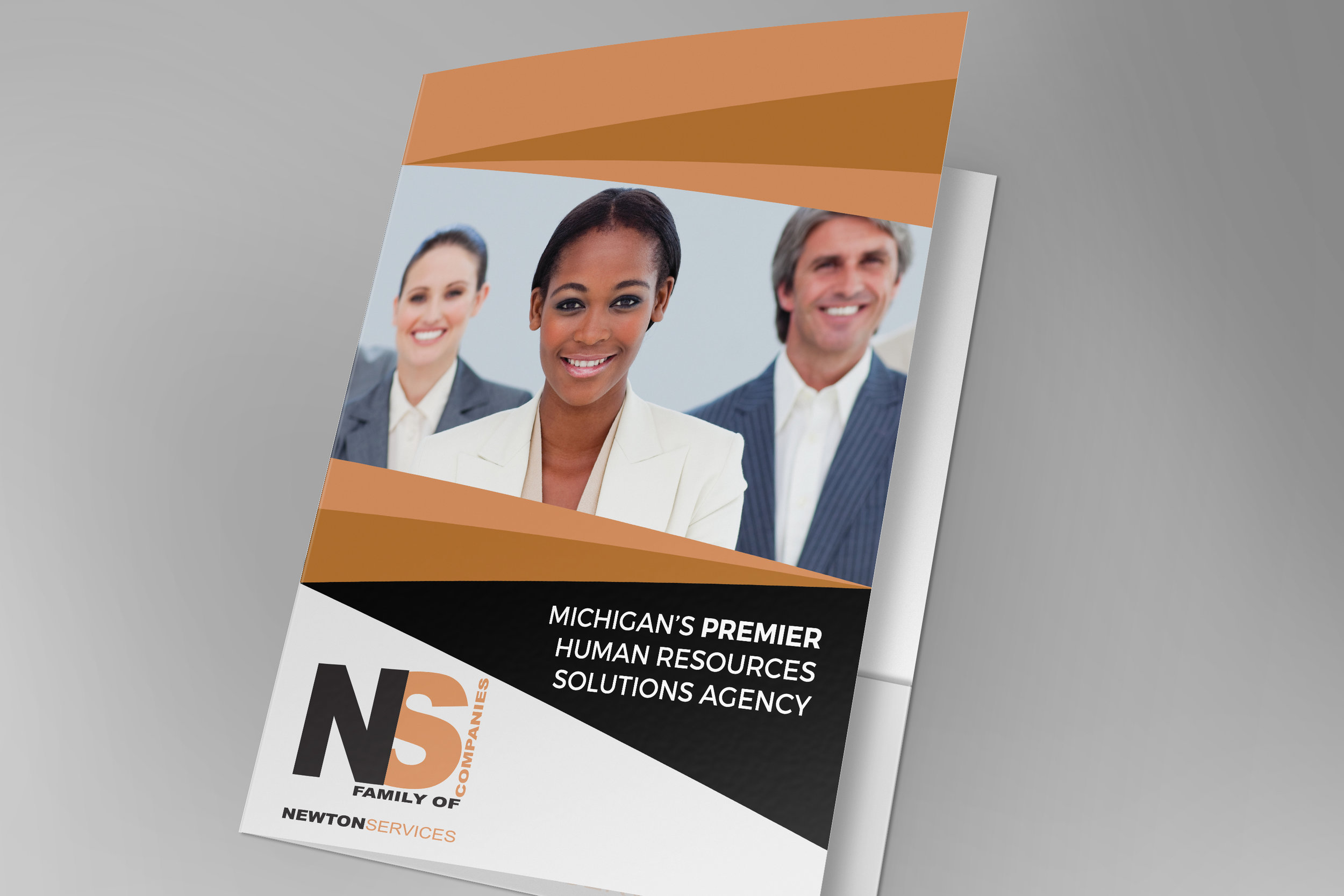 Branded Company Folders - Newton Services
