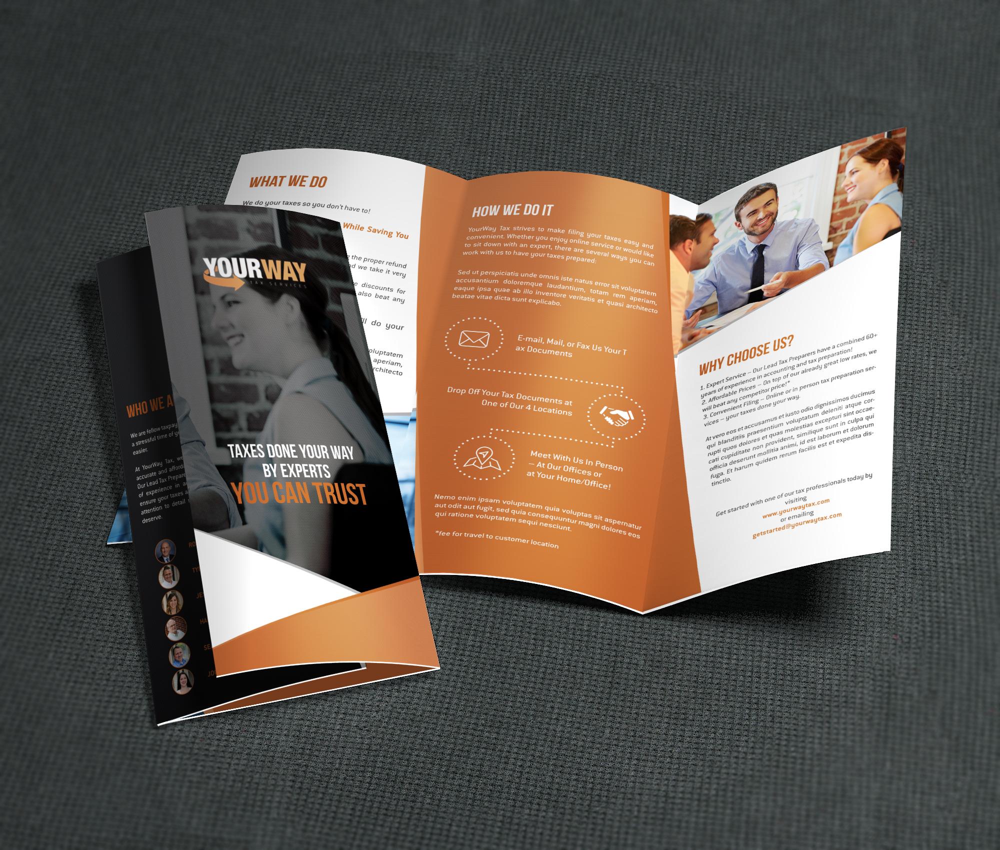 Informational Brochures - YourWay Tax