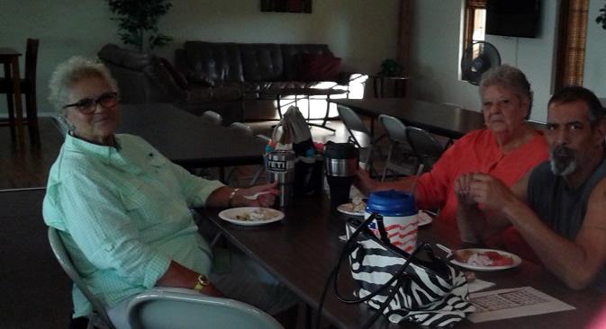 Kathy and Linda