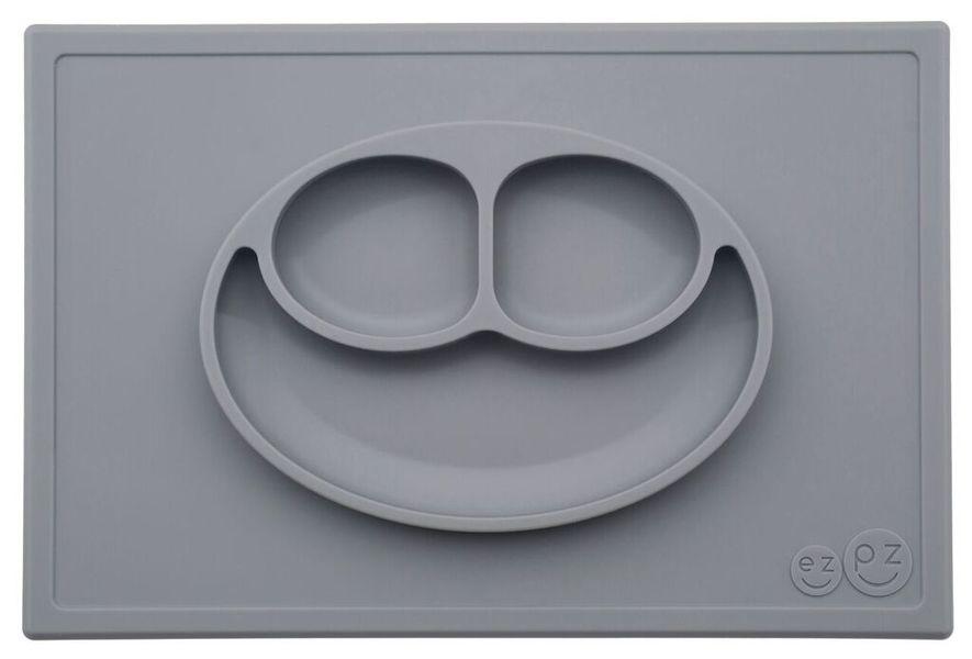 EzPz Happy Matin ulkomitat ovat 25 cm x 38 cm. Lokeroiden tilavuudet ovat 1 dl, 1 dl ja 3 dl. Kuva: EzPz.com