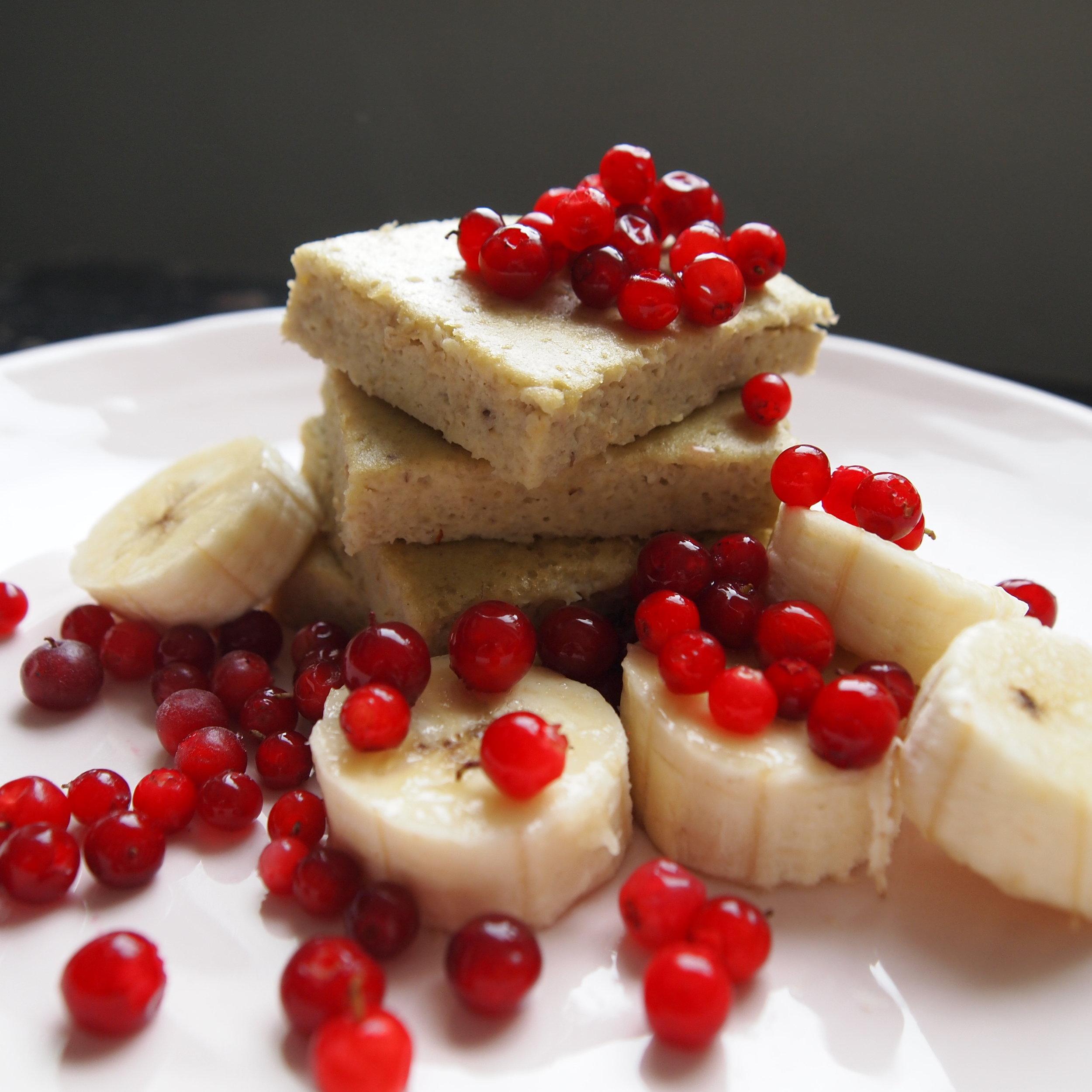 Sormiruokailijan banaanipannukakku eli munakaspannari.