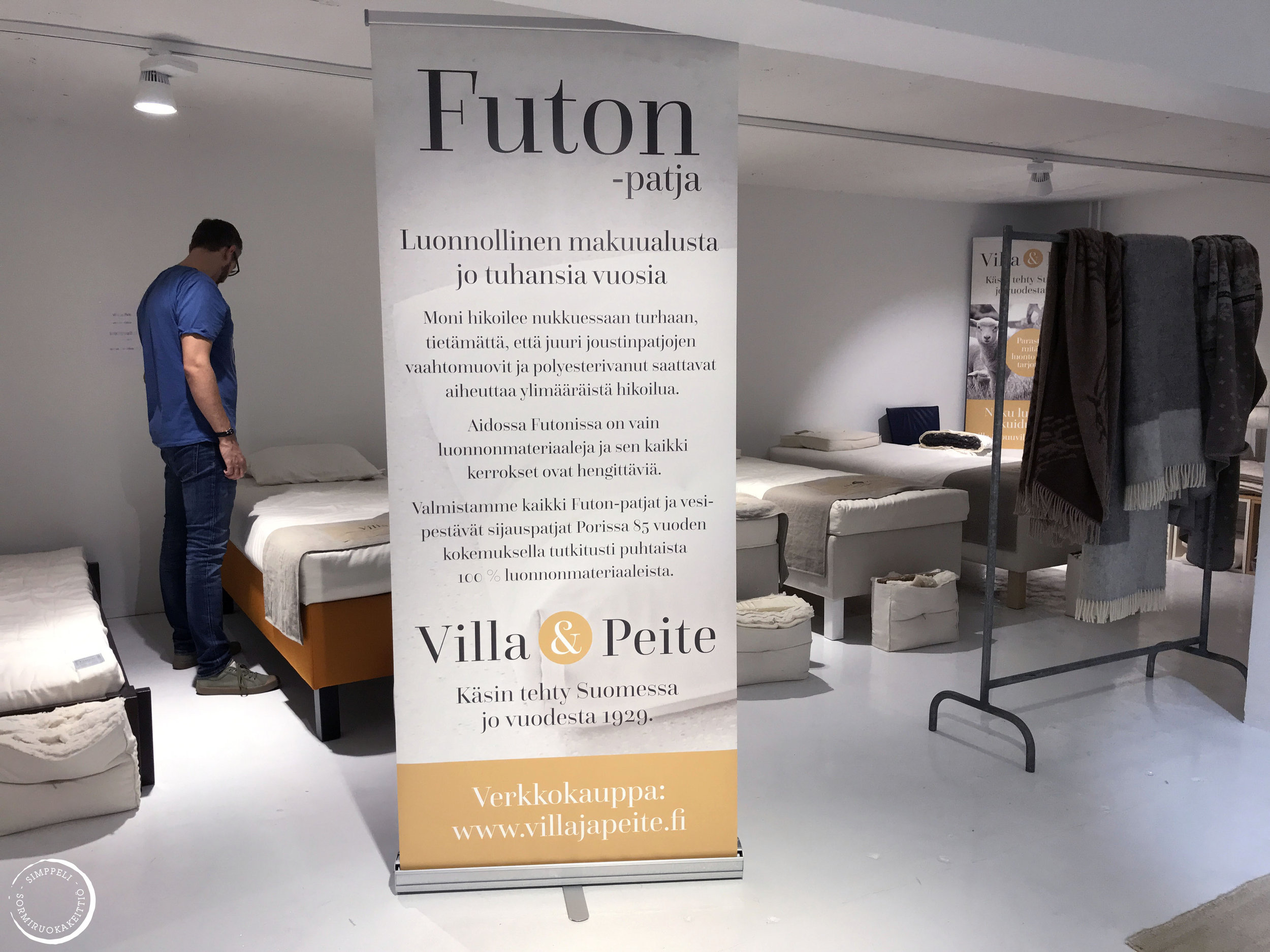 villa ja peite showroom