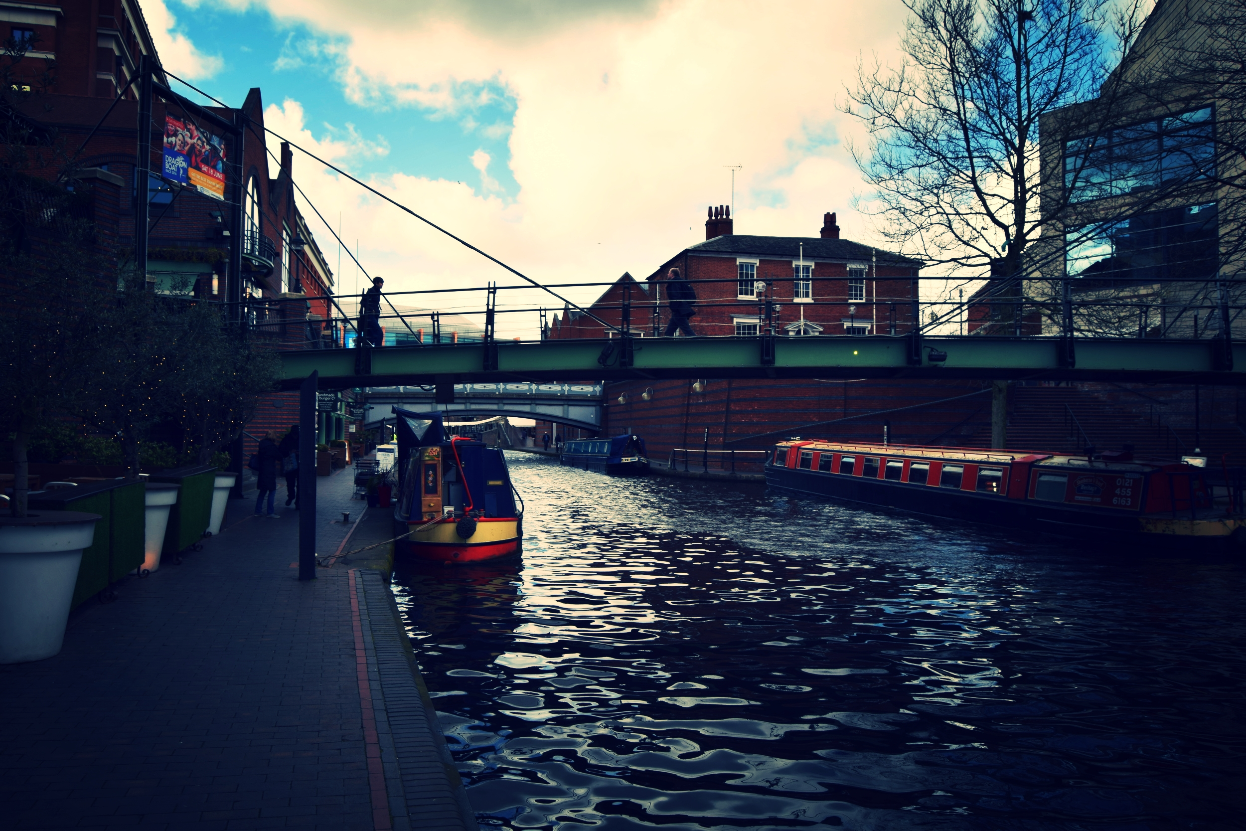 Explore the streets and canals of Birmingham