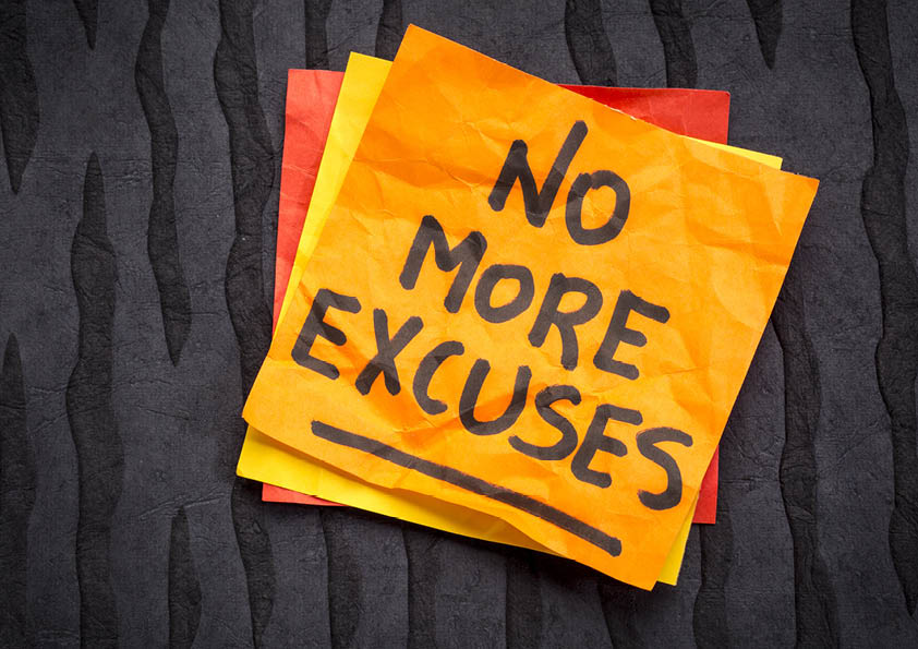 Don't be full of it! 7 of the worst excuses to not learn