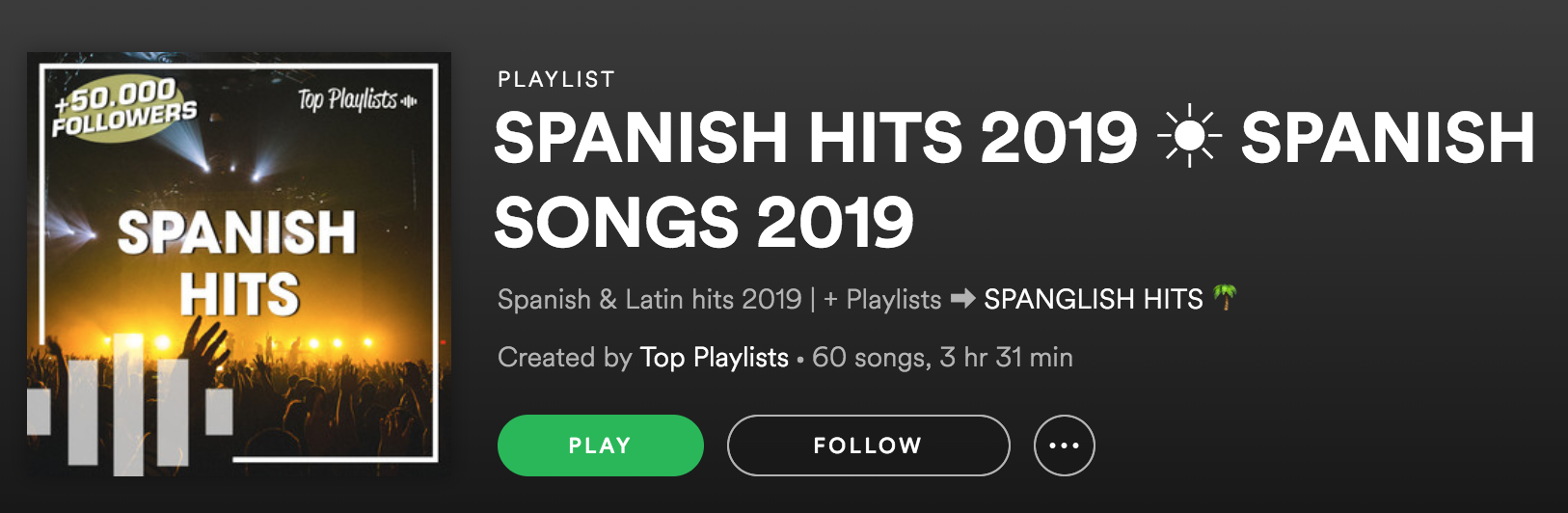 learning spanish using spotify