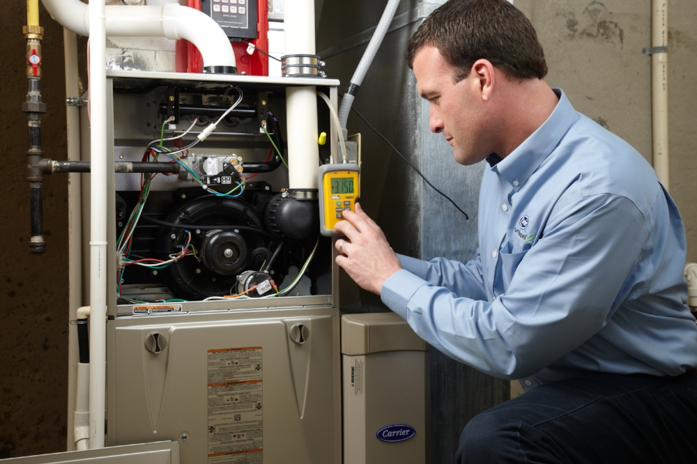 furnace heating maintenance repair
