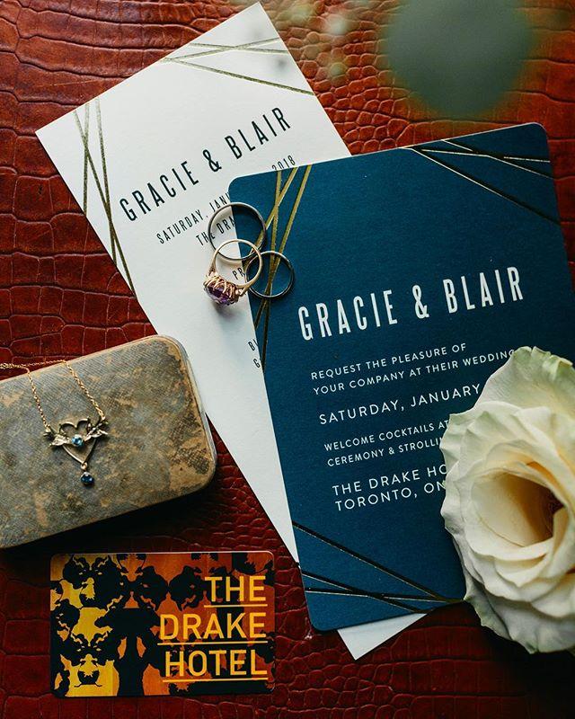 Details ✨ @thedrakehotel  Wedding planner @lexingtonandco  Beautiful Bride @gracie.reesor