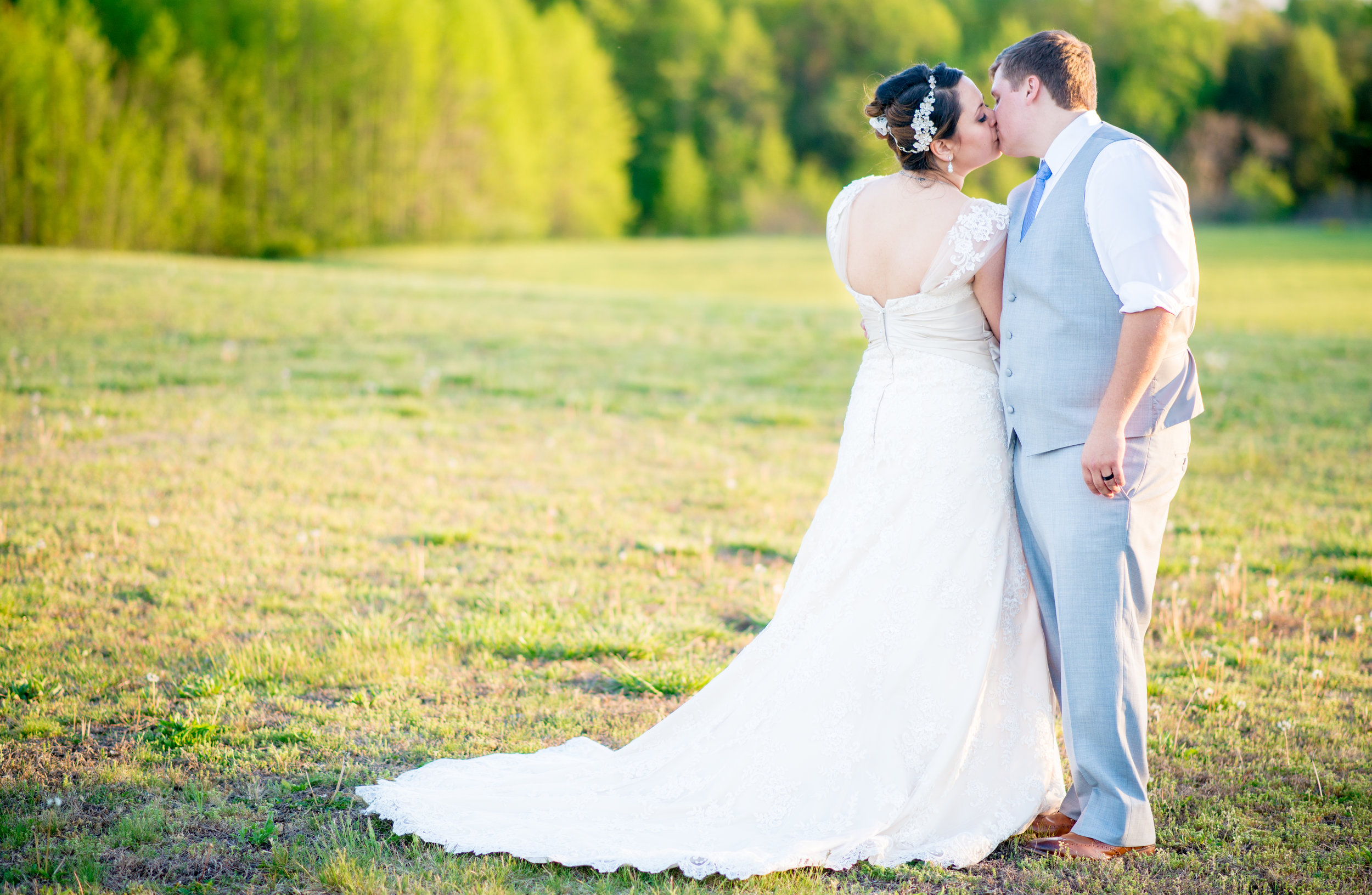 You made us feel comfortable and confident and you were always uplifting! You responded to us quickly, you were always on time, and the packages we received were wonderful!  - Brittany & Jimmy (Bride & Groom)
