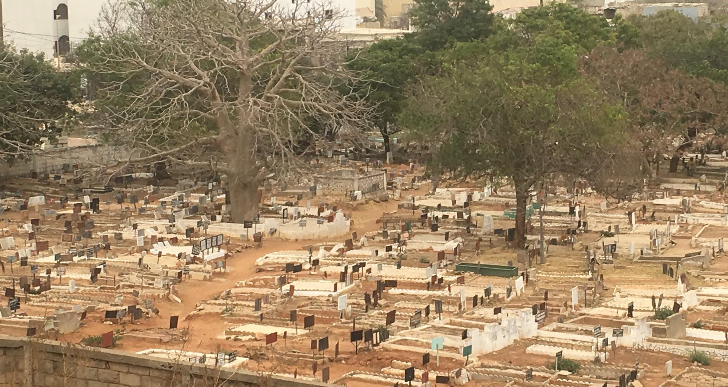 Muslimischer Friedhof, Dakar