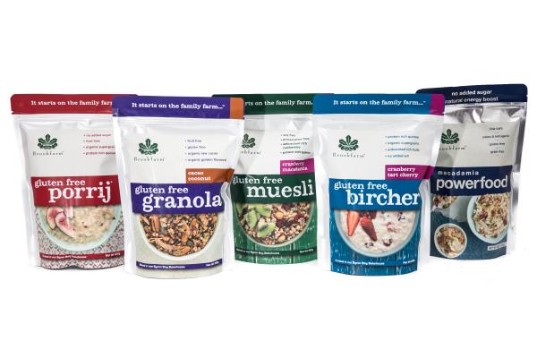 Porridge, granola and muesli