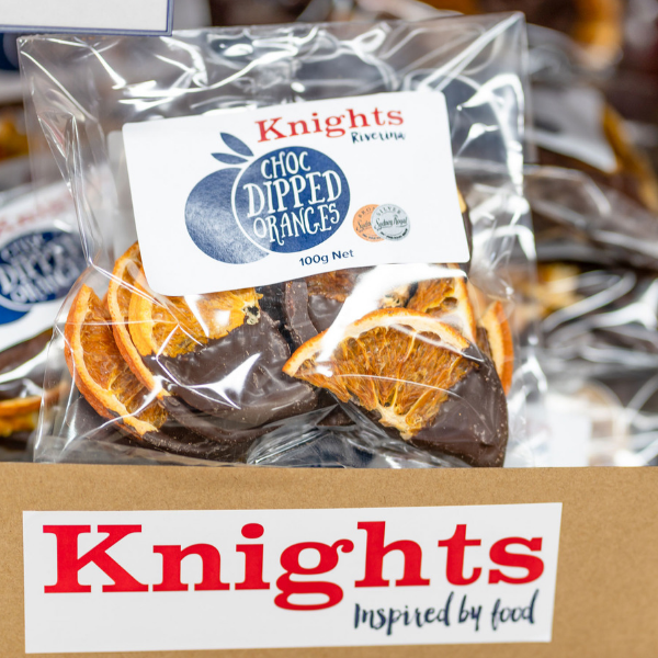 Knights Choc Coated Oranges