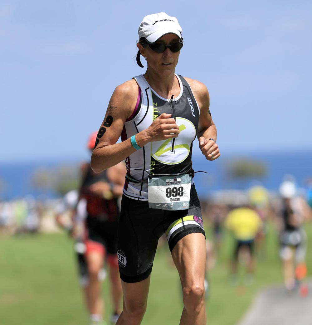 Susan Empey, 45-49 Runner and Triathlete