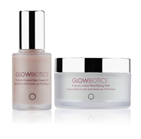 Glowbiotics MDProbiotic Skincare  Spend $399 on 3 Probiotic Youthboost Treatments  (a $450 value) and receive our most popular duo - Probiotic Instant Resurfacing Pads & Probiotic Hydraglow CreamOil (a $108 value)  -
