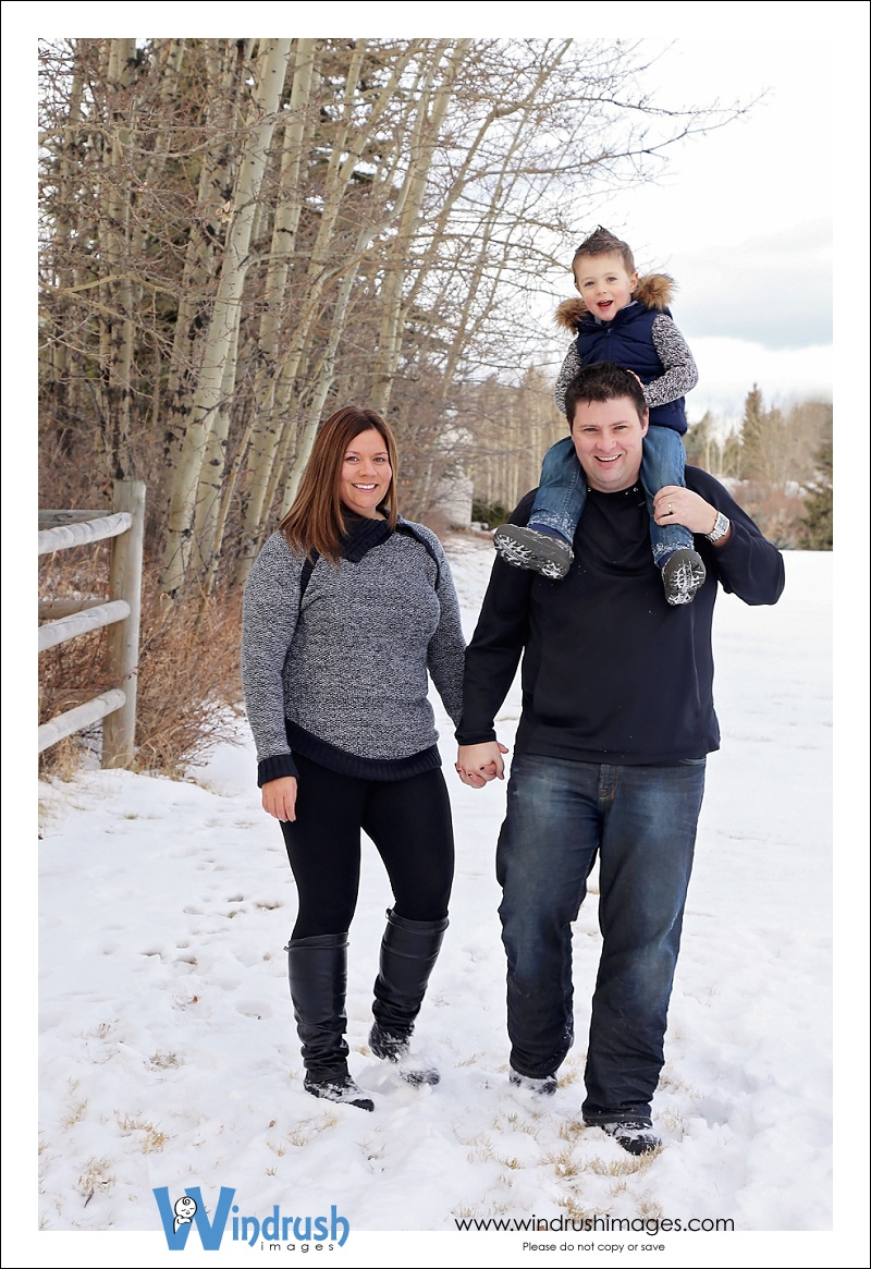 Calgary Winter Family Photography