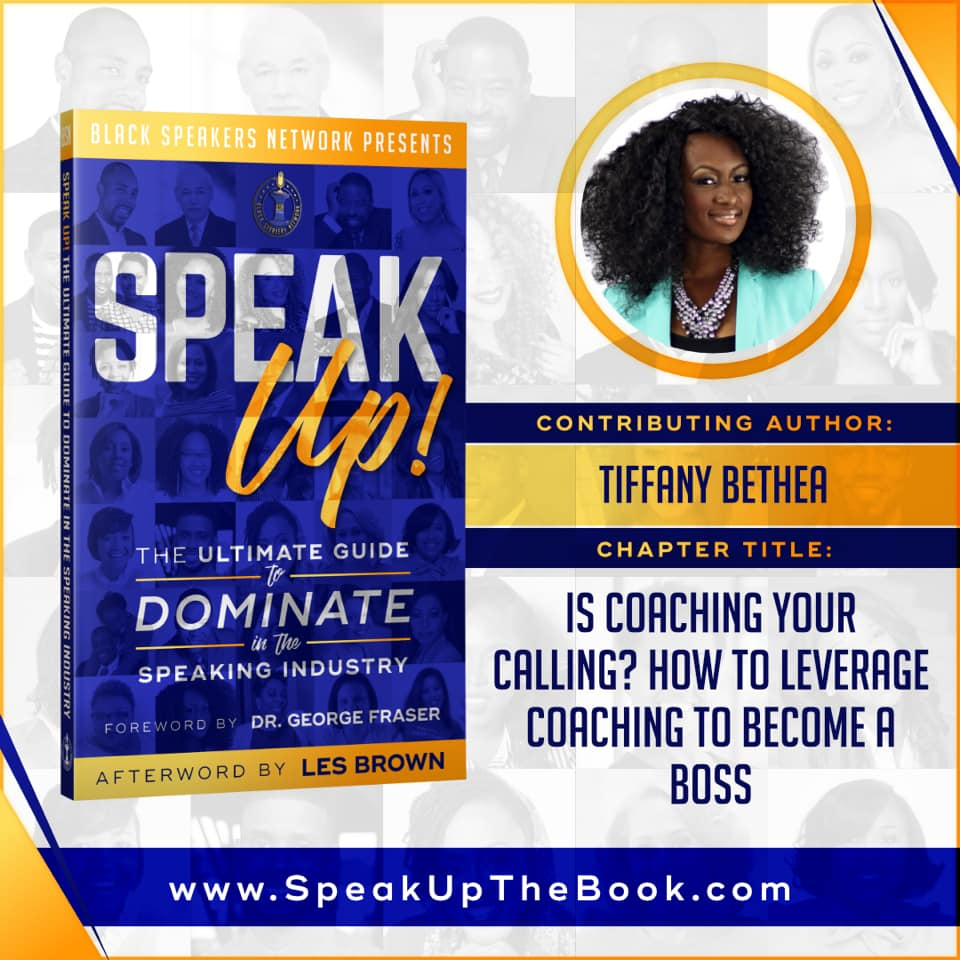 "Tiffany's expertise was most recently featured in bestseller book ""Speak Up"""