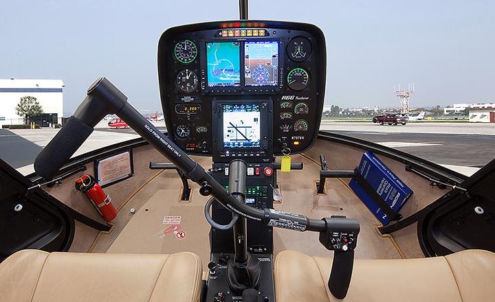 Robinson R66 w/ Garmin 500H PFD/MFD, Garmin GTN 750 and Auto Pilot System -